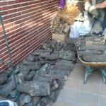 Colocacion de Leña a domicilio en Griñon