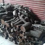 Leña de encina a domicilio en Torrejon