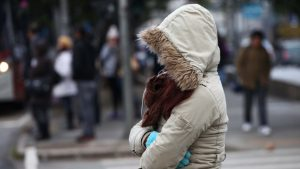 Hace mucho frio